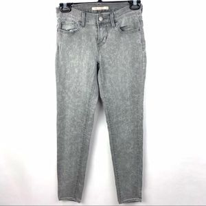 Levi's 710 supper skinny grey jeans